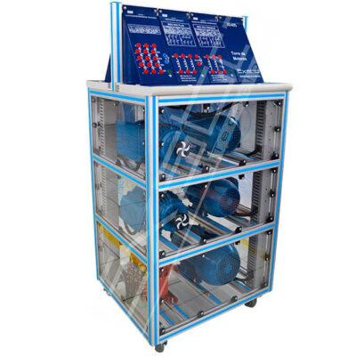 Kit Didáctico para torres de motores con Autotransformador XE405 Exsto