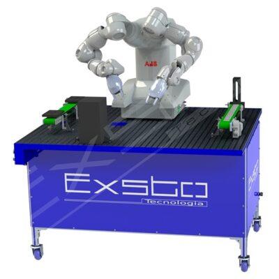 Kit didáctico para entrenamiento en robótica con IRB14000 XC503 Exsto