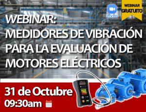 Medidores de Vibración para la evaluación de motores eléctricos - 31.10.2020 (Evento Google Business)